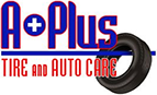A Plus Tire & Auto Care Logo